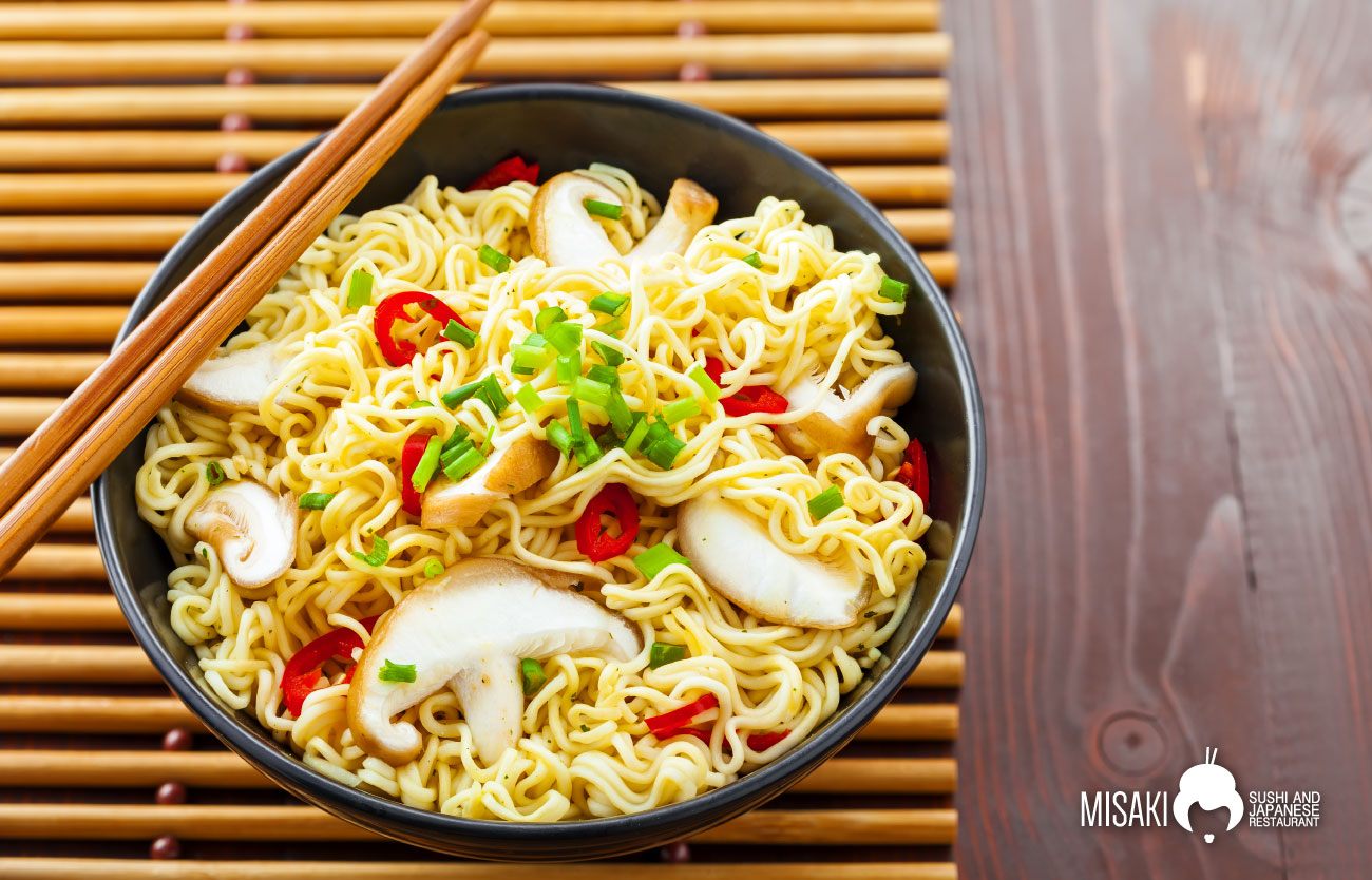 I vari tipi di Noodles giapponesi - Misaki Sushi and Japanese Restaurant
