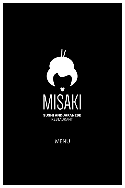 MISAKI SUSHI MENU