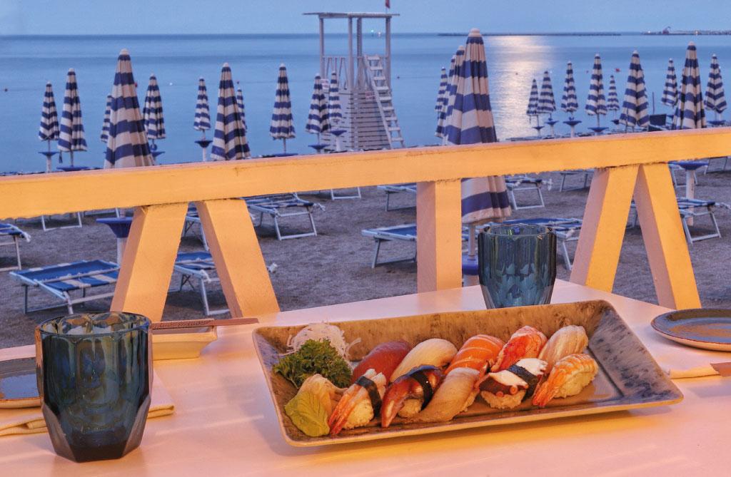 Misaki Beach Club: piatti tipici giapponesi dal gusto estetico raffinato